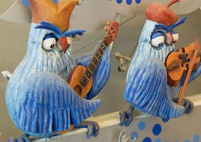 Совы-музыканты
