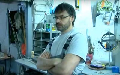 Видео: кинетические арт-объекты Евгения Климова